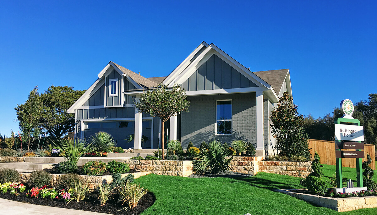 Buffington new homes liberty hill tx orchard ridge for Liberty home builders