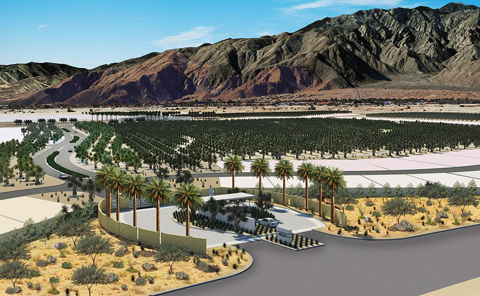 'Modernist-inspired' sustainable community will bring 1,150 new homes to Palm Springs