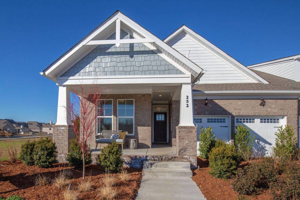Buyers can choose their favorite features at Durham Farms Villas