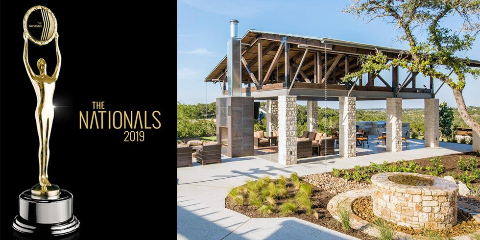 Headwaters Receives Gold Recognition for  Landscape Design at 'The Nationals' Homebuilding Awards
