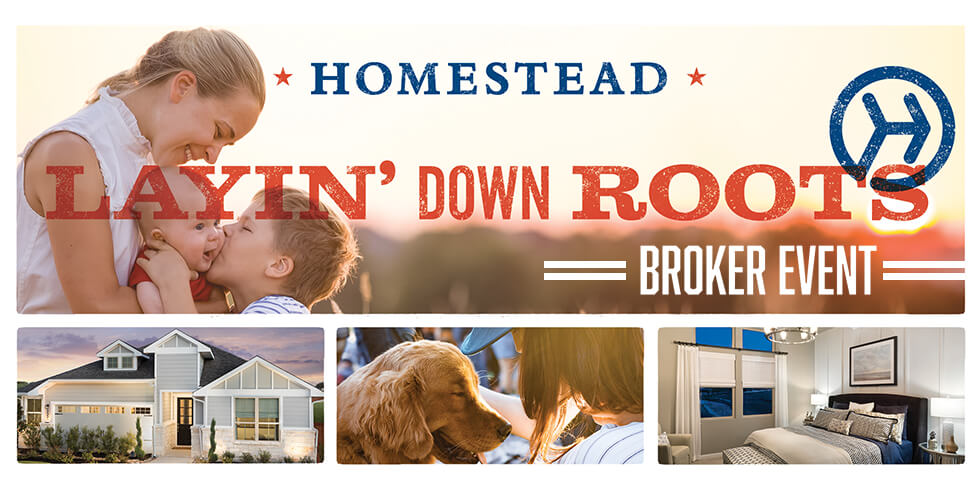 Exclusive Realtor Event At Homestead THURS, MAY 10 (11am
